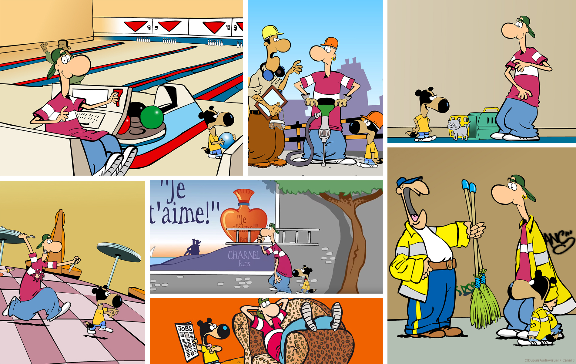 Parker & Badger - Série animée 2D - Diffuseur CANAL J - Studio 2 minutes