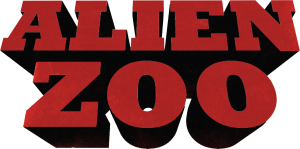 Logo Alien zoo - Série animée 3D - Co production studio animation 2 minutes