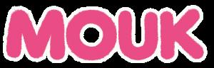 Logo Mouk - dessin animee 2D - Animation, BG par 2 minutes