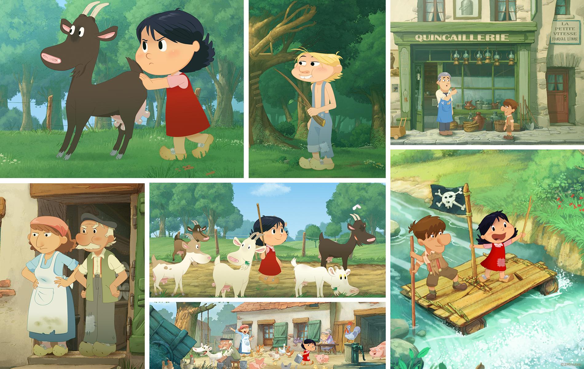 Les souvenirs de Mamette - Dessin animée 2D - Producteur studio 2 Minutes