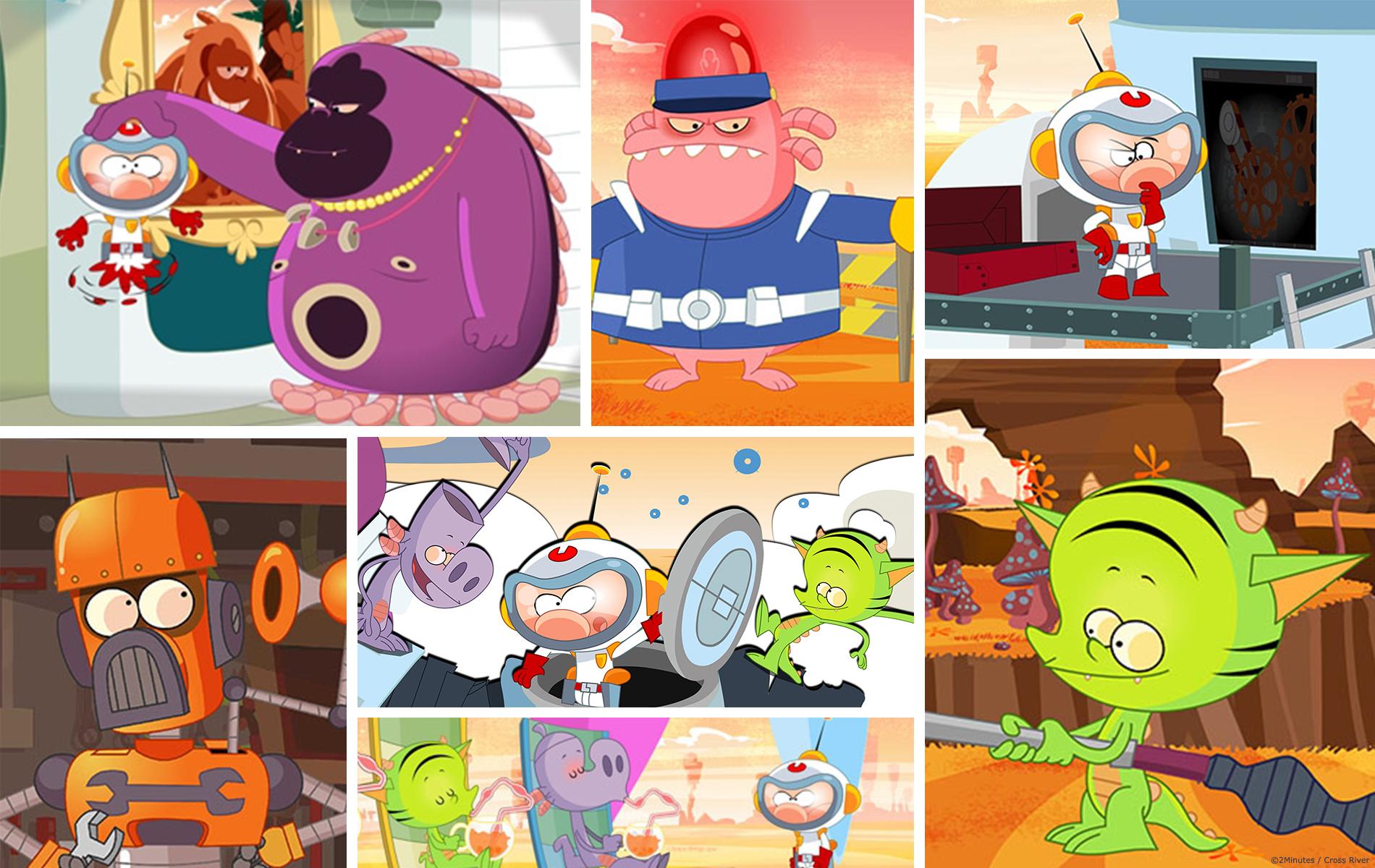 Ptit Cosmonaute - Dessin animée pour enfant - Co production 2 minutes