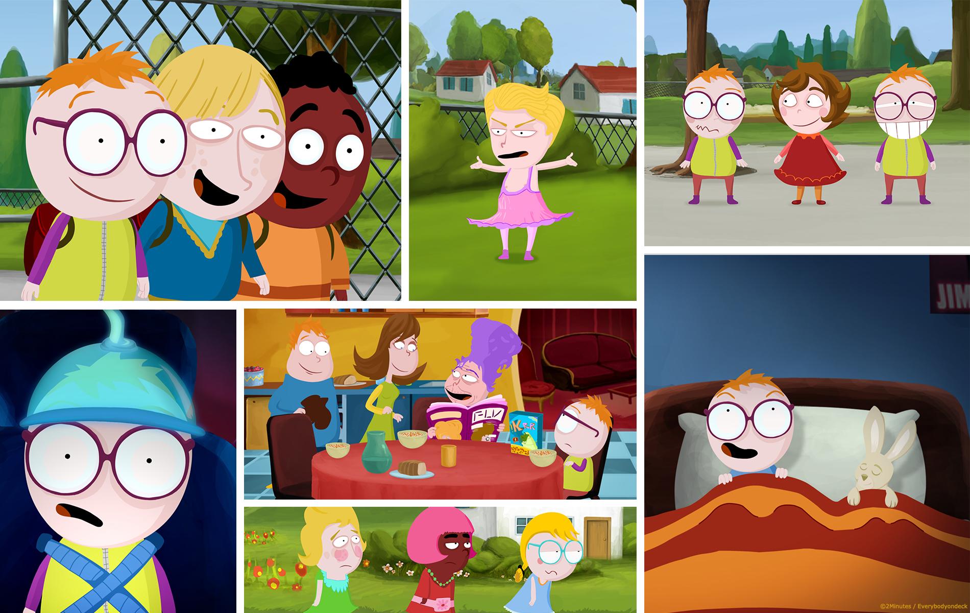 Raymond - Série TV pour enfant - Studio animation 2 minutes