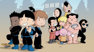 《可爱忍者学校》