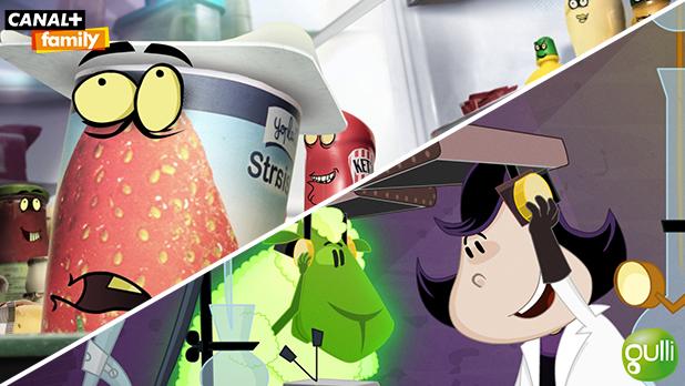 Rediffusion des séries d'animation 2 Minutes à la télévision