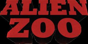 Logo Alien zoo - Série animée 3D - Co production studio animation 2 minutes