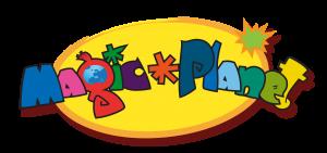Logo Magic_Planet - Dessin animée 2D - Studio animation 2 minutes