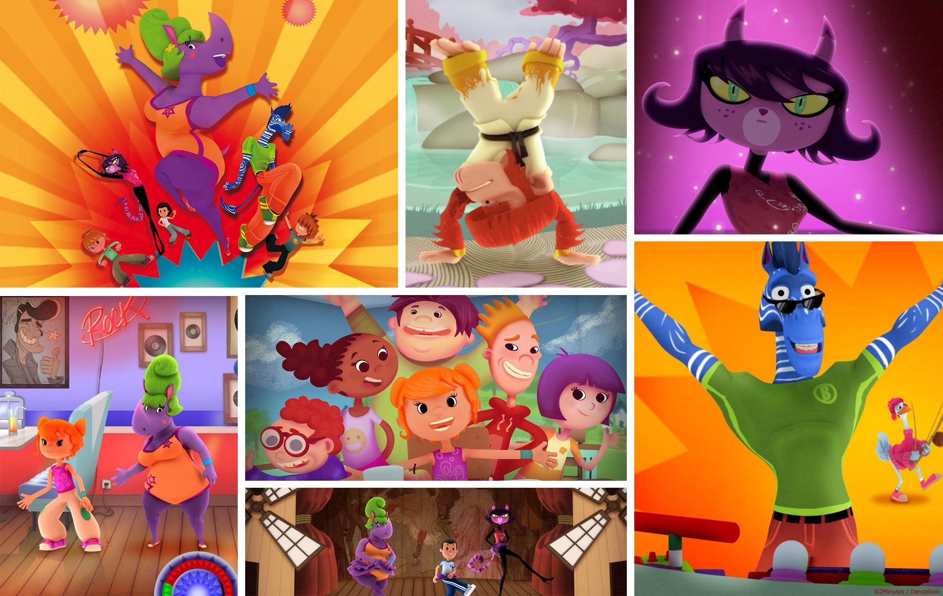 Chico Chica Boumba - Dessin animée - Diffusée par M6 - COPRODUCTION 2 Minutes