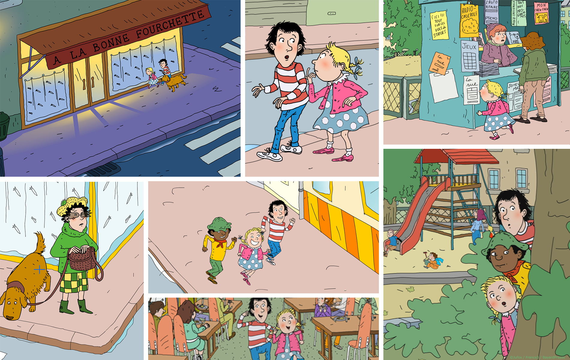 Tom-Tom & Nana - Dessin animée 2D - Studio d animation 2 minutes