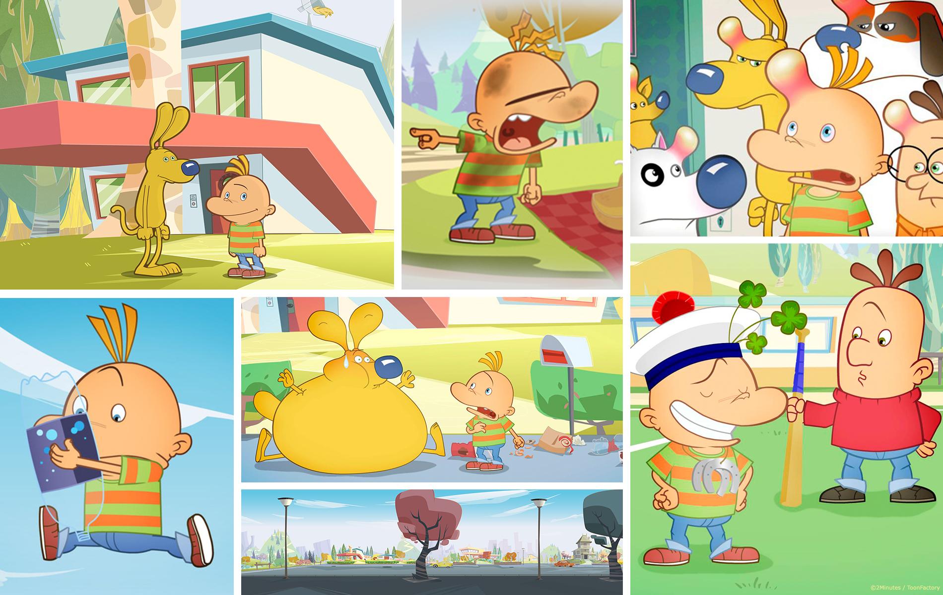 Tony & Alberto - Dessin animée enfants - 2 minutes