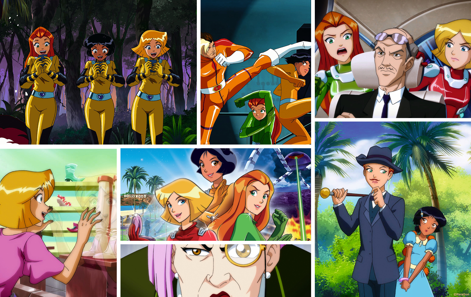 Totally Spies le film - Long métrage - Compositing studio animation 2 minutes